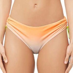 NWT bikini bottom Forever 21 ombre UPF 50+